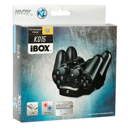 ŁADOWARKA iBOX K15 DUAL CHARGER, 2xGAMEPAD PS3