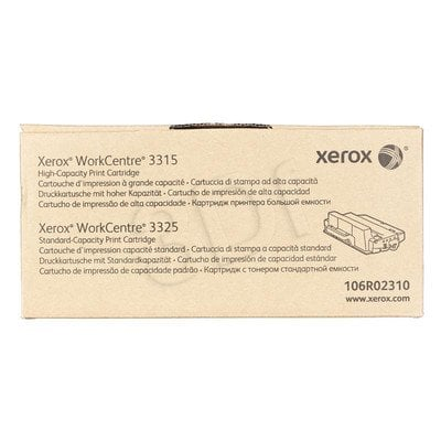 XEROX Toner Czarny 106R02310=WorkCentre WC3315, WC3325, 5000 str.