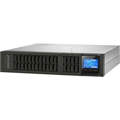 "POWER WALKER UPS ON-LINE 2000VA, 4X IEC OUT, RS-232, USB, RACK 19""/TOWER"