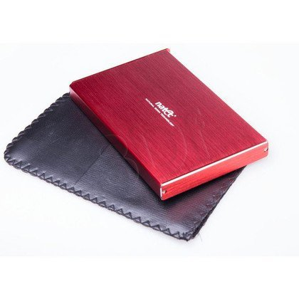 "NATEC OBUDOWA USB 3.0 HDD/SSD 2.5"" SATA RHINO ALUMINIUM SLIM LIMITED EDITION RED"