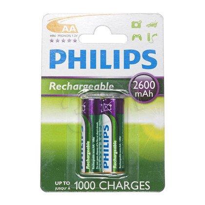 Philips Akumulator AA NiMH 2600mAh 2szt.