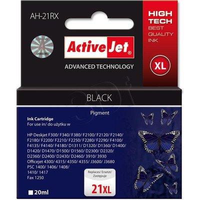ActiveJet AH-21RX (AH-351) tusz czarny do drukarki HP (zamiennik HP 21XL C9351A)
