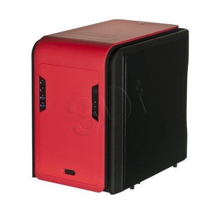 OBUDOWA AEROCOOL DS CUBE RED USB3.0 CZERWONO-CZARNA