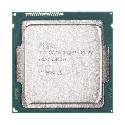 Procesor Intel Xeon E3-1231V3 3400MHz 1150 Oem