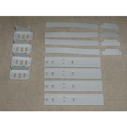 Prowadnice do szuflad - różni pr Prowadnica drzwi lodówki do zabudowy (2szt/kpl) Whirlpool (481231019131)