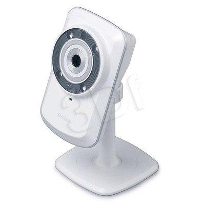 D-LINK [DCS-942L] Kamera IP kierunkowa [wewnętrzna] [0,3 Mega-Pixel] [H.264] [IR] [mydlink, slot microSD WIFI]