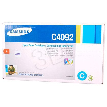 SAMSUNG Toner Niebieski CLTC4092S=CLT-C4092S, 1000 str.