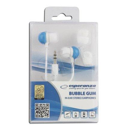 Słuchawki douszne Esperanza BUBBLE GUM (Niebiesko-biały)
