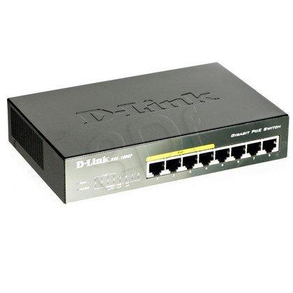 D-LINK DGS-1008P 8x10/100 /1000Mbps Switch (4xPoE)