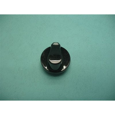 Pokrętło czarne, wskaźnik szary trapez G611.00/09.073.01 (8009115)