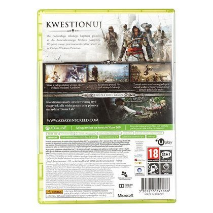 Gra Xbox 360 Assassins Creed 4 Black Flag Classics