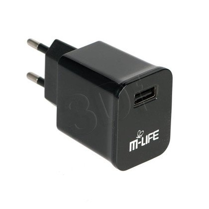 M-LIFE ŁADOWARKA SIECIOWA USB 2A