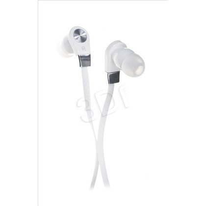 Słuchawki douszne z mikrofonem Blow B-11 (Biały)