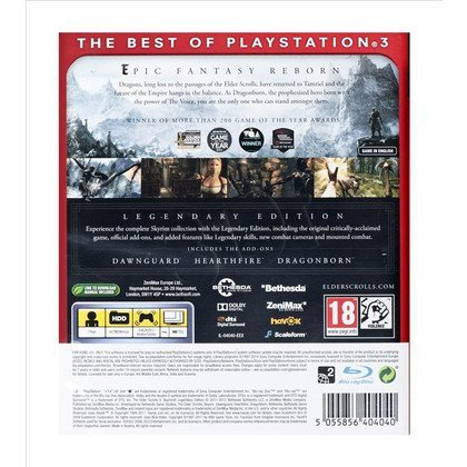 Gra PS3 The Elder Scrolls V Skyrim Legenderay ED
