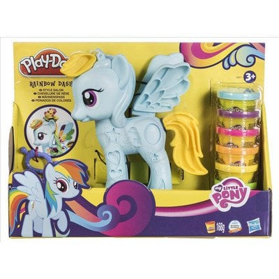 PLD PLAY-DOH SALON FRYZJERSKI RAINBOW DASH HASBRO B0011