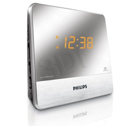 Radiobudzik Philips AJ3231/12 srebrny